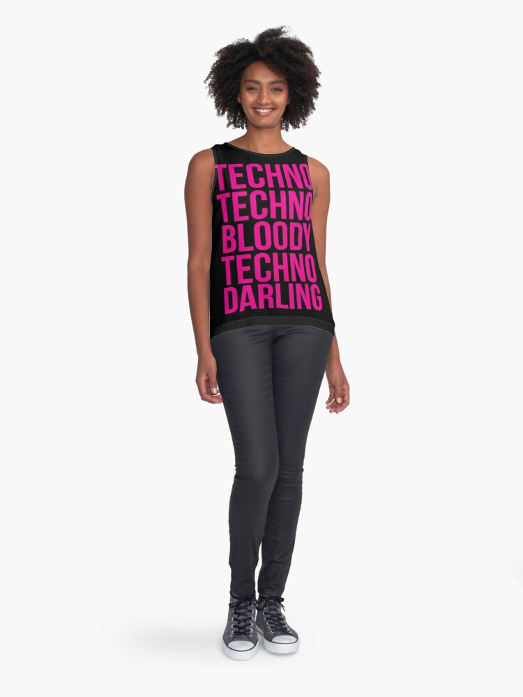 Alternate view of Absolutely Fabulous - Techno, Techno Sleeveless Top