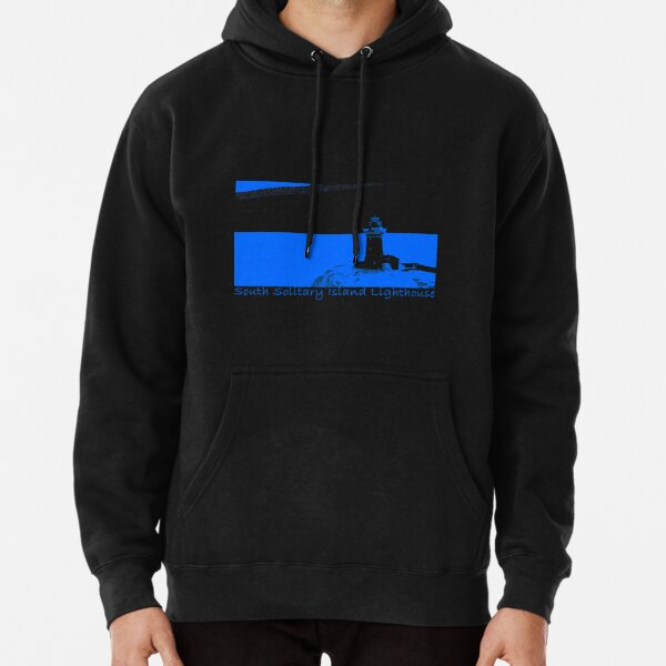 Lighthouse - South Solitary Island Fitted T-Shirt Pullover Hoodie