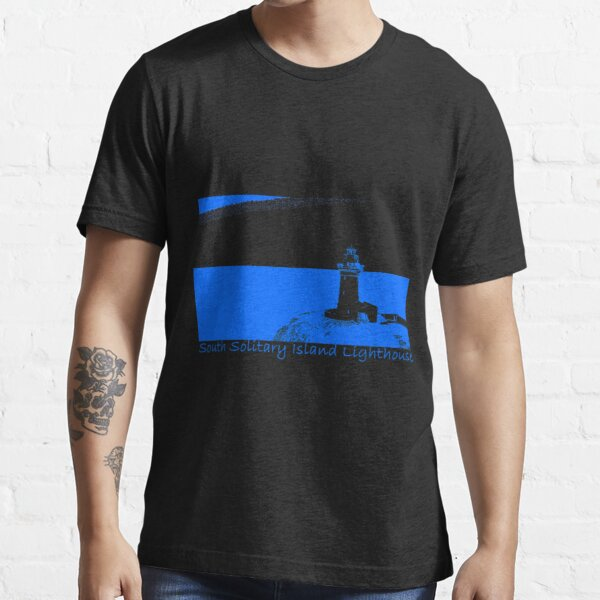 Lighthouse - South Solitary Island Fitted T-Shirt Essential T-Shirt
