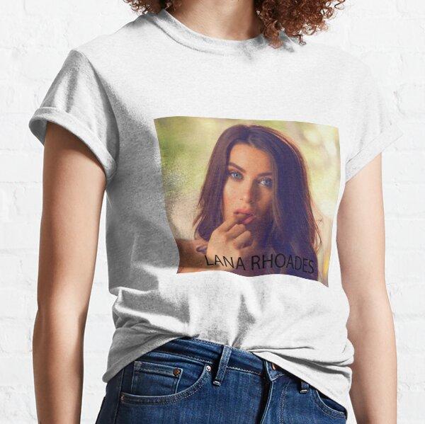 Lana Rhoades Camiseta clásica