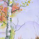Autumn Birch by Rhana Griffin