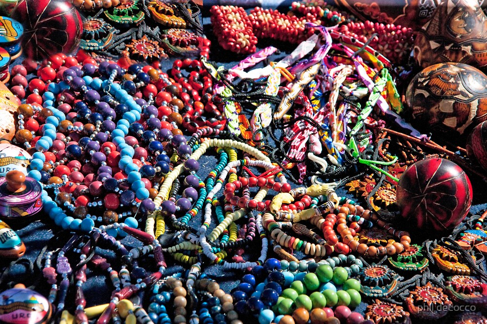 Uros Beads And Trinkets by phil decocco