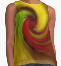 Swirl of Color Contrast Tank