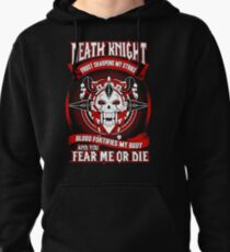 Death Knight Frost Sharpens My Strike - Wow Pullover Hoodie