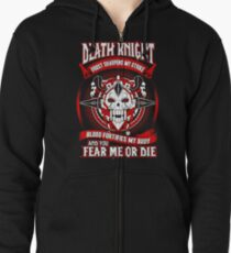 Death Knight Frost Sharpens My Strike - Wow Zipped Hoodie