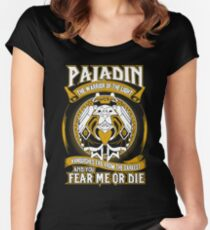 Paladin The Warrior Of The Light - Wow Women's Fitted Scoop T-Shirt