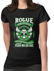 Rogue The Master Of Stealth - Wow Womens Fitted T-Shirt