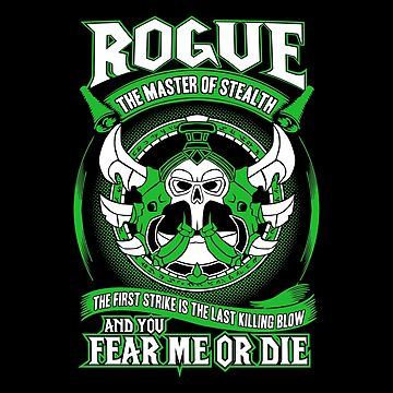 Rogue The Master Of Stealth - Wow by gourleyolga