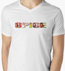 SPICE Men's V-Neck T-Shirt