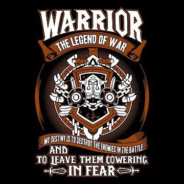 Warrior The Legend Of War - Wow by gourleyolga