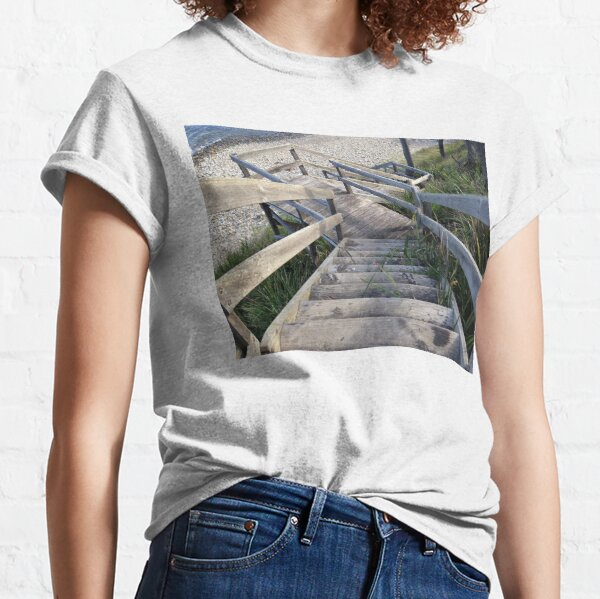Staircase to the waters edge Classic T-Shirt