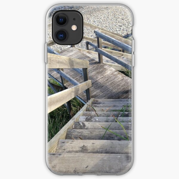 Staircase to the waters edge iPhone Soft Case