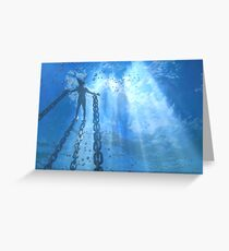 Drowned World Greeting Card