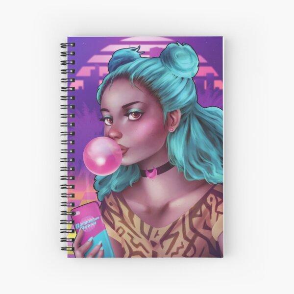 Bubblegum Retro Spiral Notebook