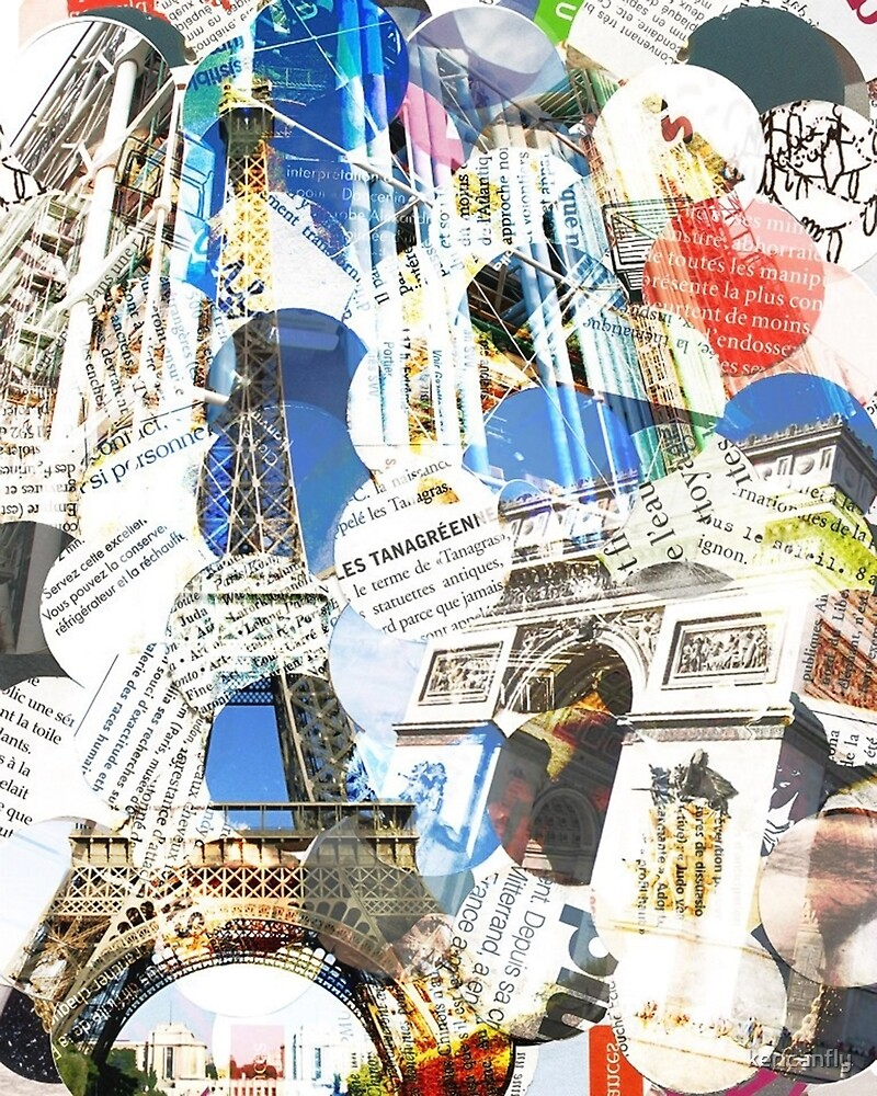 Paris Magazine Collage by kericanfly