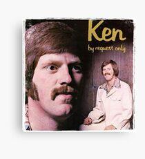 Vinyl Record Cover - Ken Canvas Print