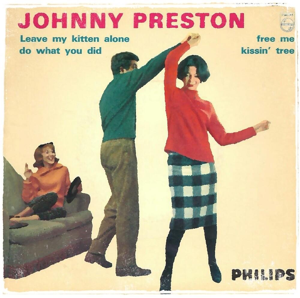 Vinyl Record Cover - Johnny Preston by RecordCovers