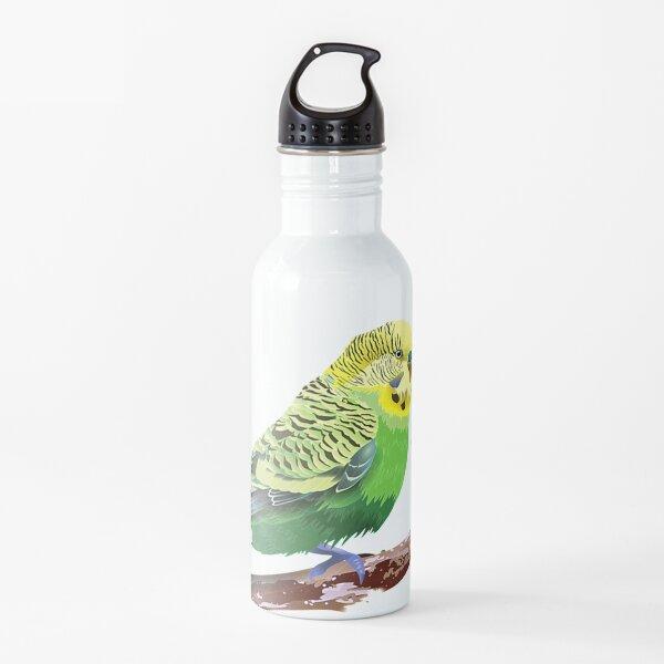 Budgie Rules  Budgie Lover Parakeet Bird Budgerigar TShirt88 Water Bottle