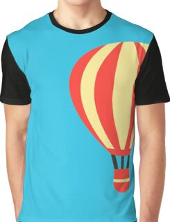 Classic Red and Yellow Hot air Balloon Graphic T-Shirt