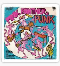 Vinyl Record Cover - Pink Panther Sticker