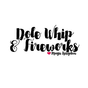 Dole Whip and Fireworks by ozmarei