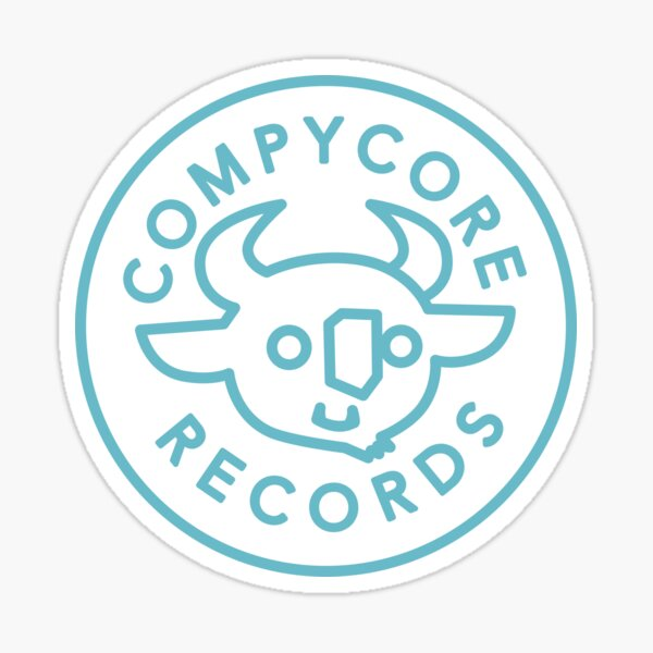CompyCore Records Sticker