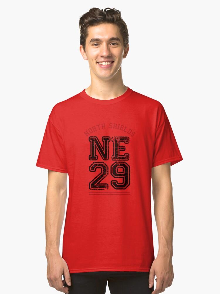 North Shields NE29 Classic T-Shirt Front