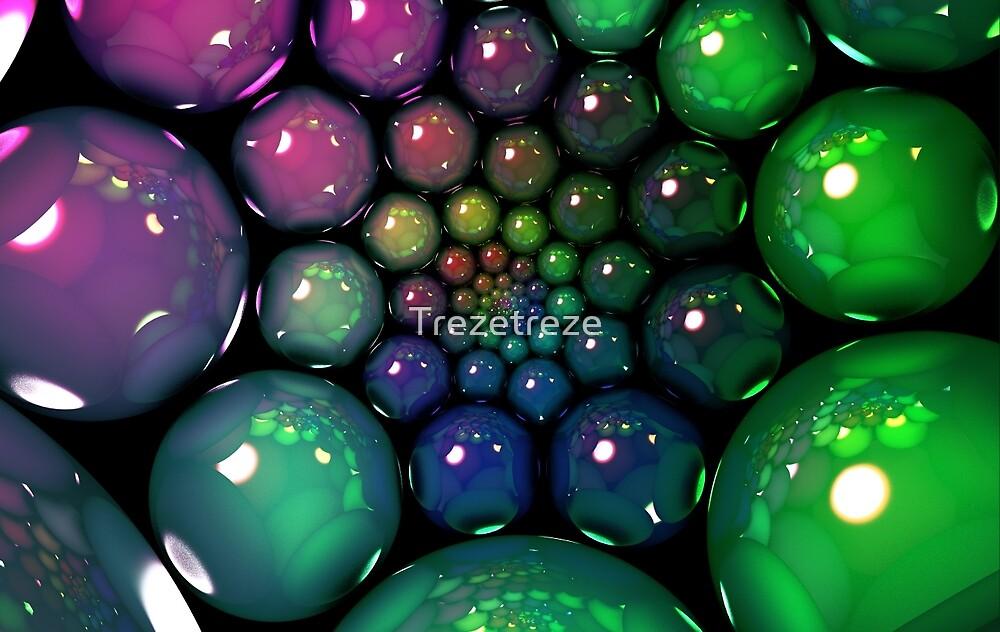 Bubble Spiral by Trezetreze