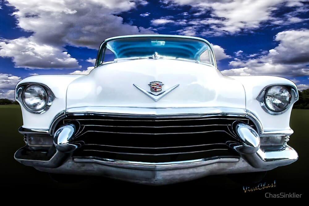 55 Cadillac Down Inna Meadow Up In Kerrville by ChasSinklier