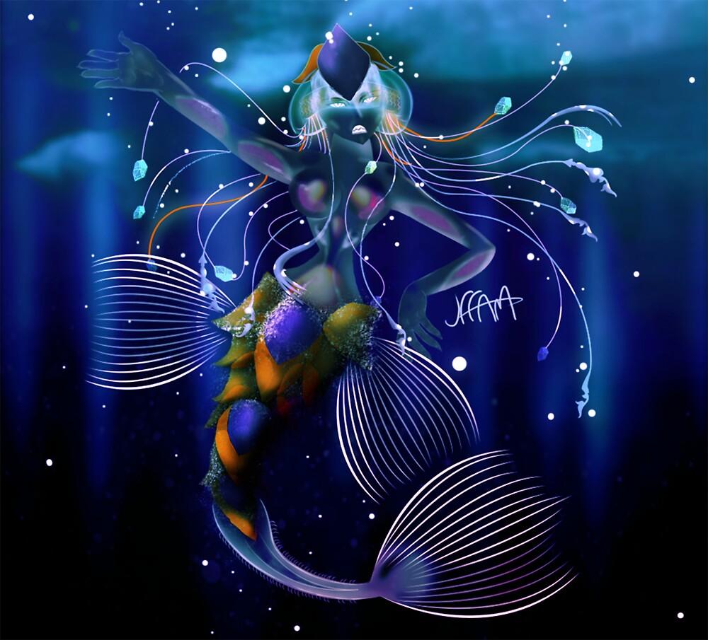 Antarctic Mermaid by jefffam