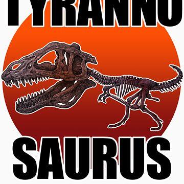Tyrannosaurus by kuuma