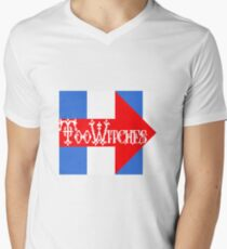 Too Witches (Hillary) Men's V-Neck T-Shirt