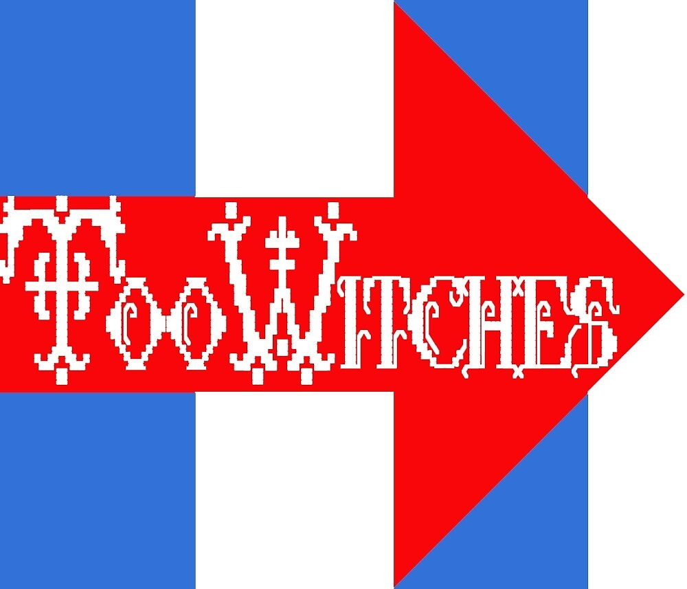Too Witches (Hillary) by katastrophy