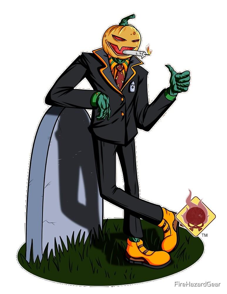 Pumpking by FireHazardGear