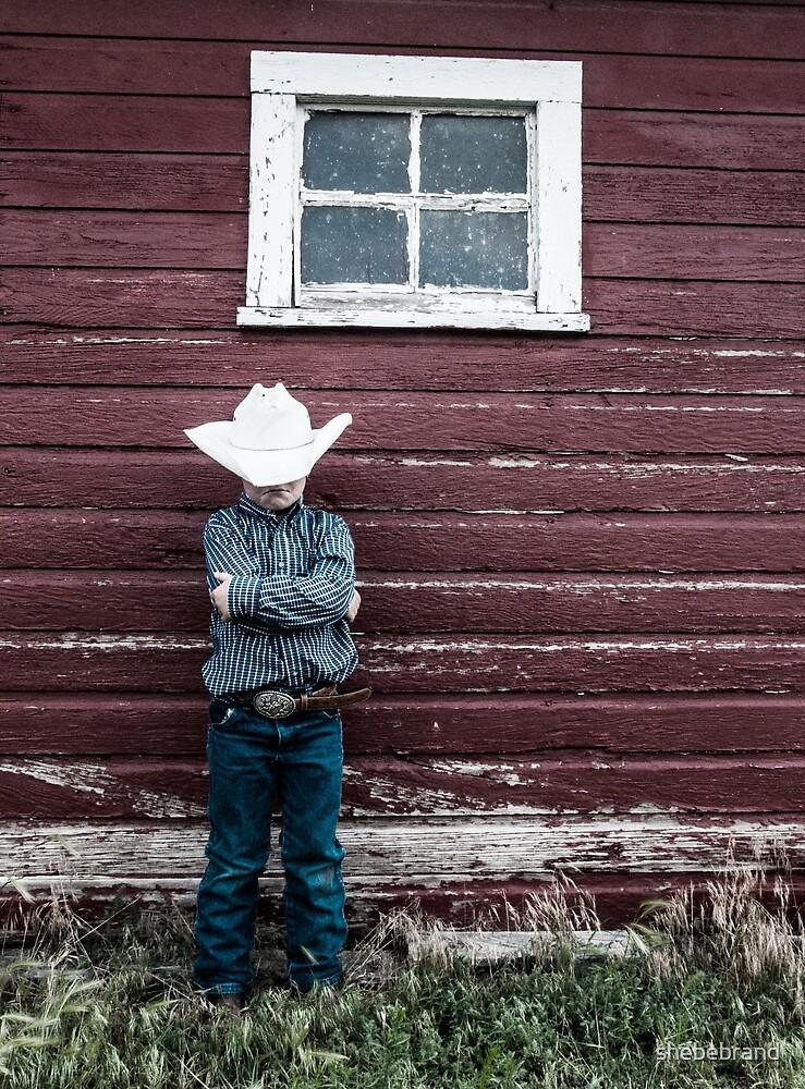 Grumpy Cowboy by shebebrand