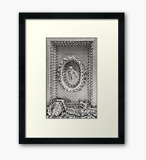 Astley Hall-ceiling 2 Framed Print