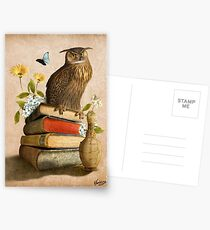 Wise Owl Postcards