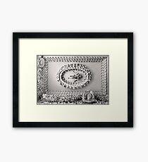 Astley Hall-Ceiling3 Framed Print