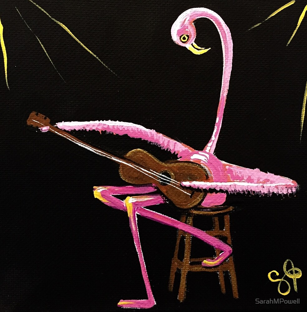 Flamingo Lullaby by SarahMPowell