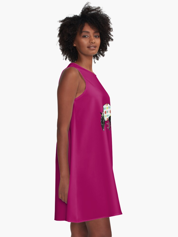 Alternate view of Tapir A-Line Dress