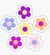 Flower Power Design Sticker