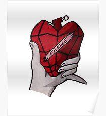 American Idiot heart grenade Poster