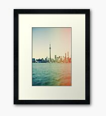 Shades Of The City Framed Print