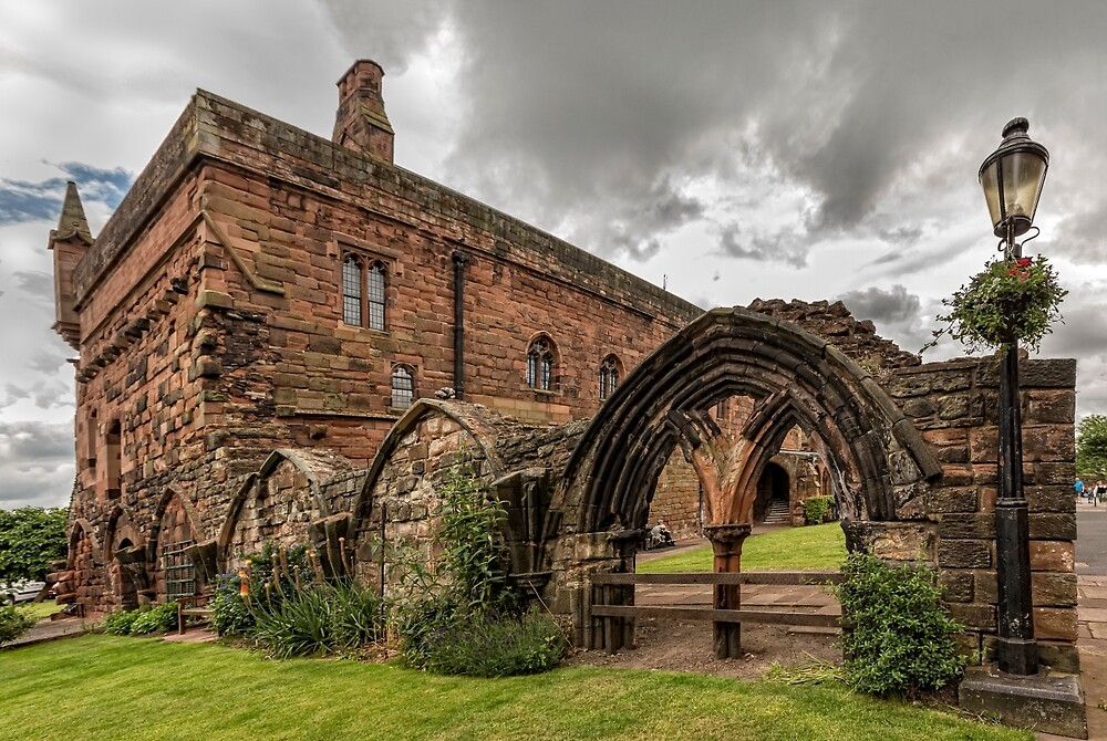 Carlise Cathedral-Arch2 by jasminewang