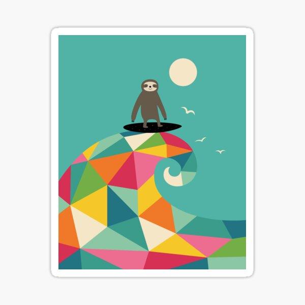 Surfs Up Sticker
