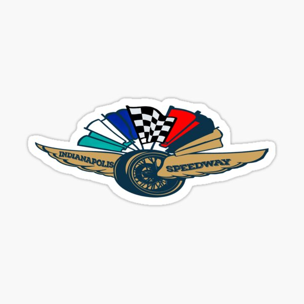 Indianapolis 500: The Simulation Motor Speedway  Sticker