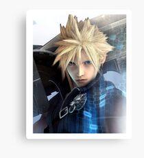 Cloud | Final Fantasy VII Metal Print