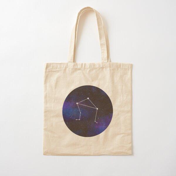 Libra - galaxy star constellation Cotton Tote Bag