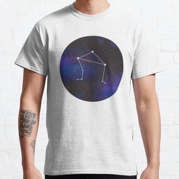 Libra - galaxy star constellation Classic T-Shirt