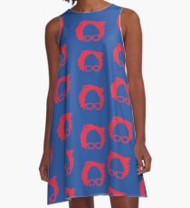 "Vestido acampanado Phish fishman dress ""bernie"""